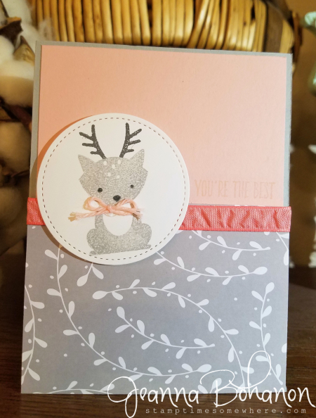 PCC#222 Stampin  Up! Foxy Friends Jeanna Bohanon