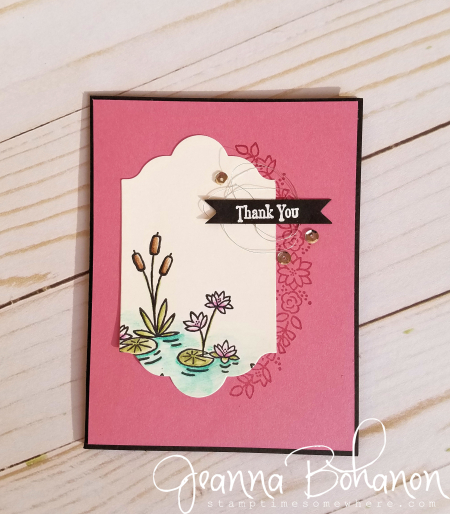 PCC225 Stampin' Up! Swan Lake by Jeanna Bohanon