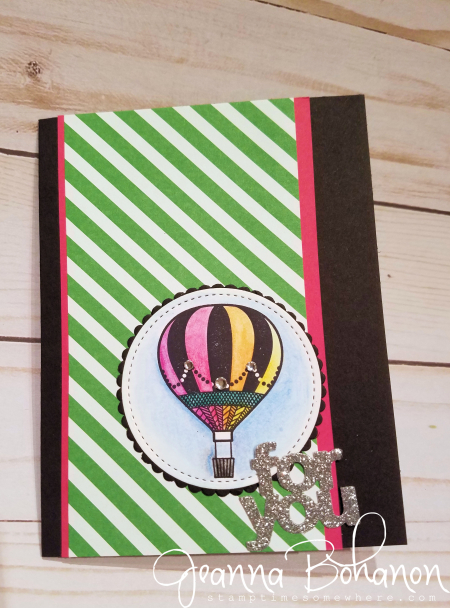 OSAT Blog Hop Stampin' Up! Lift Me Up! Jeanna Bohanon 3