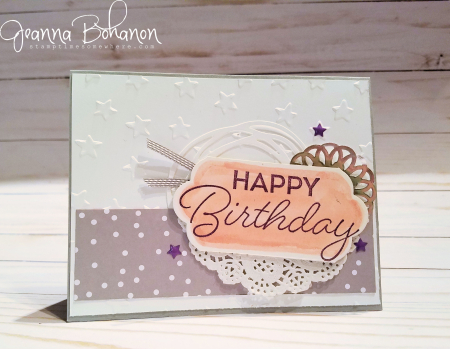 PCC228 Stampin' Up! Birthday Blast Jeanna Bohanon