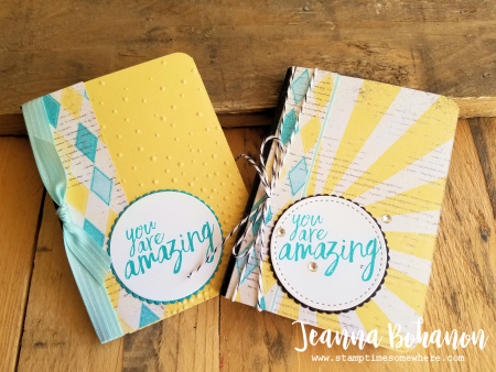 WCBH4-1 Stampin' Up! All Things Thanks Jeanna Bohanon duo
