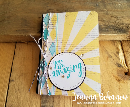 WCBH4-1 Stampin' Up! All Things Thanks Jeanna Bohanon stepped up