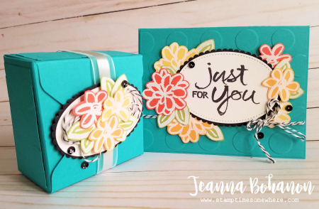 OSAT Blog Hop - Stampin' Up! Watercolor Words by Jeanna Bohanon