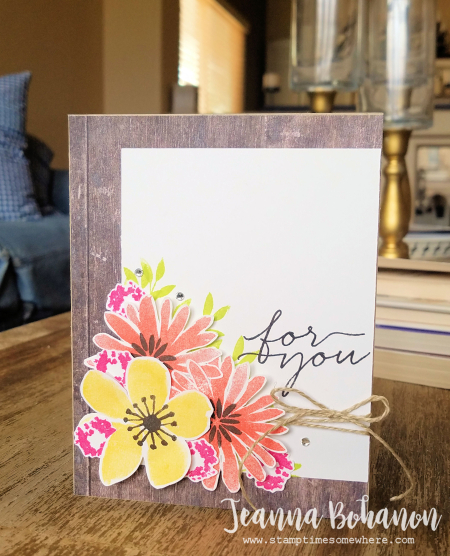 PCC246 Stampin' Up! Blooms and Wishes by Jeanna Bohanon A