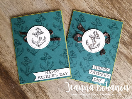 WCBH6-1 Stampin' Up! Guy Greetings by Jeanna Bohanon both
