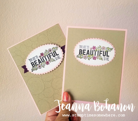 WCBH7-1 Stampin' Up! Just Add Text by Jeanna Bohanon 1