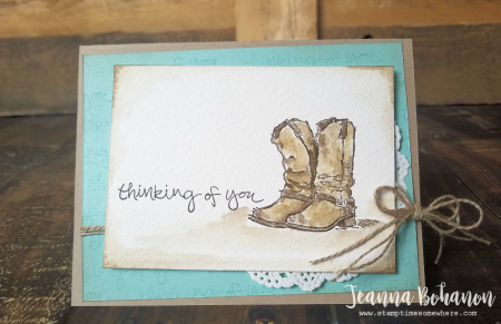 OSAT Blog Hop Stampin' Up! Country Livin' Jeanna Bohanon card