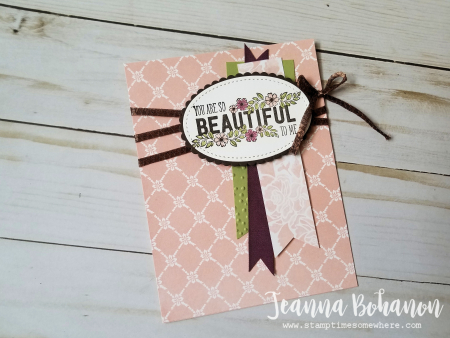 #tgifc116 Stampin' Up! Just Add Text by Jeanna Bohanon