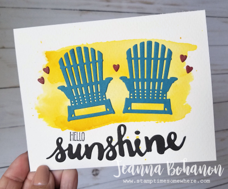 #tgifc117 Stampin' Up! Colorful Seasons and Sunshine Wishes by Jeanna Bohanon