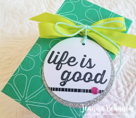 Fancy Friday Stampin' Up! Memories and More Perfect Days Jeanna Bohanon 2