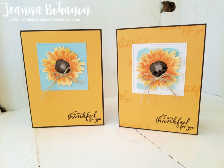 #tgifc123 Stampin' Up! Painted Harvest by Jeanna Bohanon