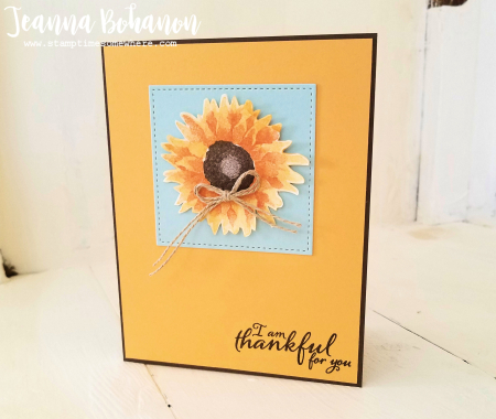 #tgifc123 Stampin' Up! Painted Harvest by Jeanna Bohanon 2