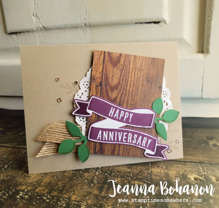 PCC266 Stampin' Up! Banners for you Jeanna Bohanon