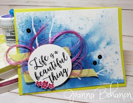 PCC274 Stampin' Up! Colorful Seasons Jeanna Bohanon
