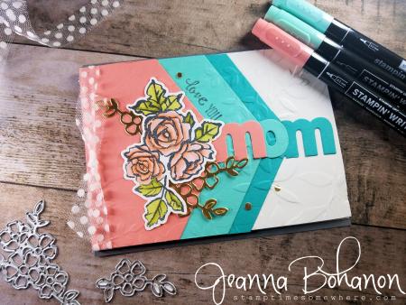 #tgifc159 Stampin' Up! Petal Palette by Jeanna Bohanon