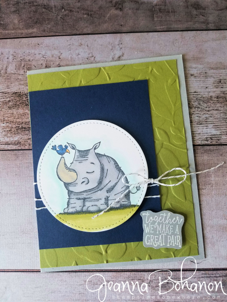 #tgifc161 Stampin' Up! Animal Outing by Jeanna Bohanon