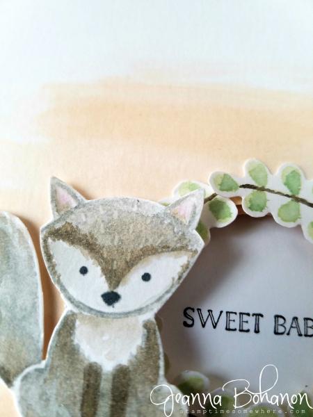 OSAT Blog Hop - Creature Comforts Stampin' Up! Foxy Friends Jeanna Bohanon 3