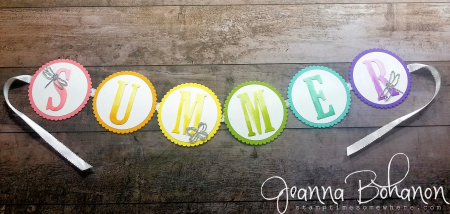 #tgifc173 Stampin' Up! Summer Decor by Jeanna Bohanon