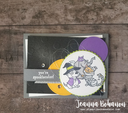PCC311 Stampin' Up! Trick or Tweet by Jeanna Bohanon