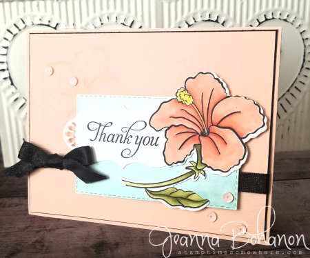 #tgifc186 Stampin' Up! Humming Along by Jeanna Bohanon
