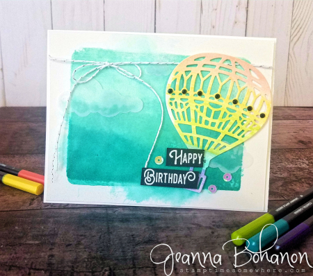 PCC302 Stampin' Up! Lift Me Up by Jeanna Bohanon