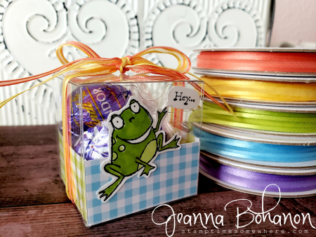 OSAT Blog Hop Sale A Brate the Occasions Stampin' Up! So Hoppy Together candy box Jeanna Bohanon