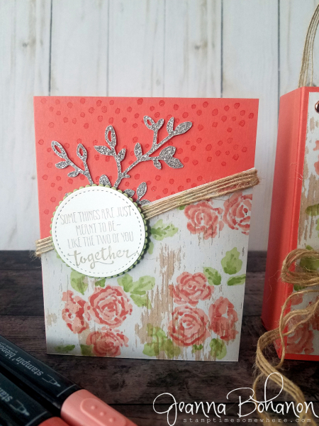 #tgifc172 Stampin' Up! Petal Palette by Jeanna Bohanon card