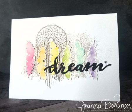 Fancy Friday Stampin' Up! Follow Your Dreams Jeanna Bohanon
