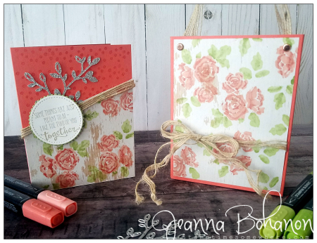 #tgifc172 Stampin' Up! Petal Palette by Jeanna Bohanon set