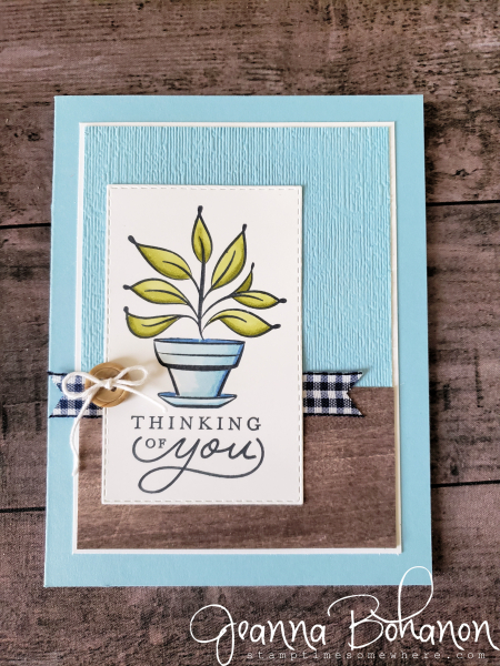 PCC325 Stampin' Up! Just Because by Jeanna Bohanon