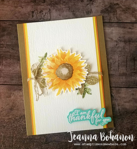 WCBH11-1 Stampin' Up! Painted Harvest by Jeanna Bohanon