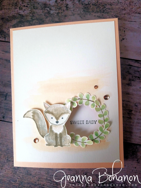 OSAT Blog Hop - Creature Comforts Stampin' Up! Foxy Friends Jeanna Bohanon 2