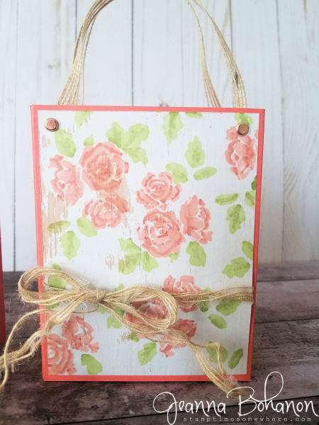 #tgifc172 Stampin' Up! Petal Palette by Jeanna Bohanon bag'