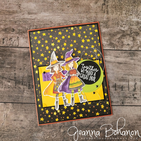 PCC306 Stampin' Up! Toil & Trouble by Jeanna Bohanon