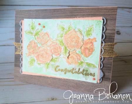 #tgifc163 Stampin' Up! Painted Palette by Jeanna Bohanon