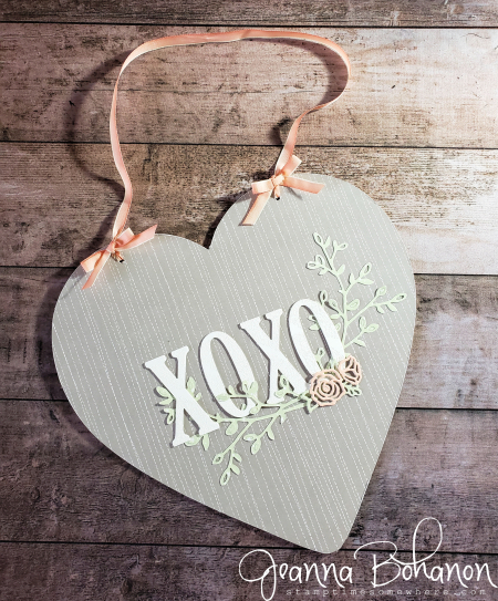 Home Decor SU style Valentine Stampin' Up! by Jeanna Bohanon