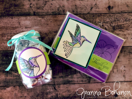 OSAT Blog Hop Simple Stamping Stampin Up! Humming Along Jeanna Bohanon