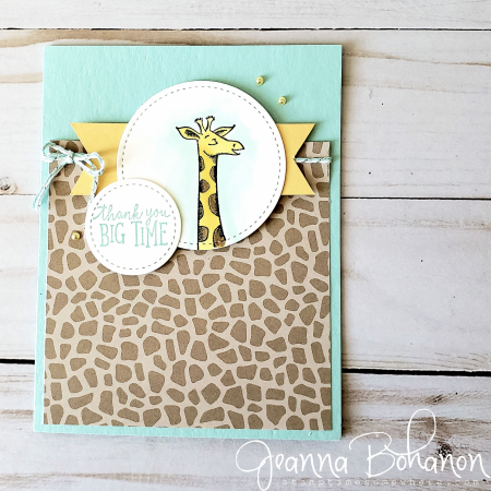 Pcc336 Stampin' Up! Animal Outing by Jeanna Bohanon