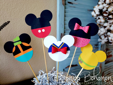 Stampin' Up! Home Decor Disney Centerpiece by Jeanna Bohanon 2