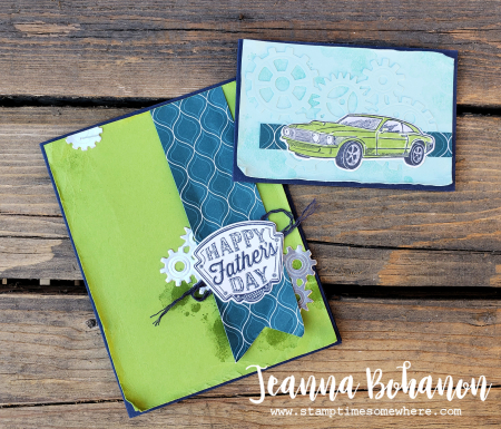 OSAT Stampin' Up! Garage Gears by Jeanna Bohanon combo