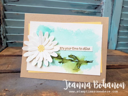 #tgifc220 Stampin' Up! Daisy Lane Bundle card by Jeanna Bohanon