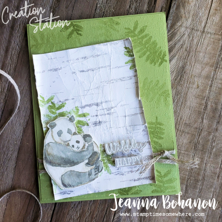 Creation Station Stampin' Up! Wildly Happy by Jeanna Bohanon