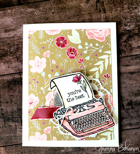OSAT Spring Fling Stampin' Up! P.S. I Love You by Jeanna Bohanon