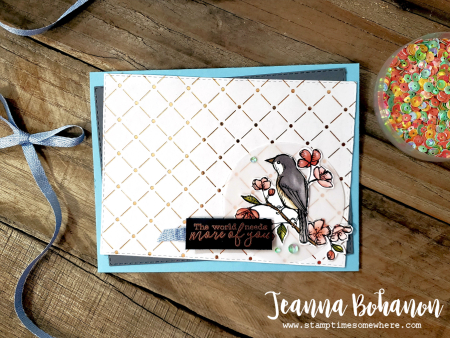 WCBH Stampin' Up! Bird Ballad by Jeanna Bohanon