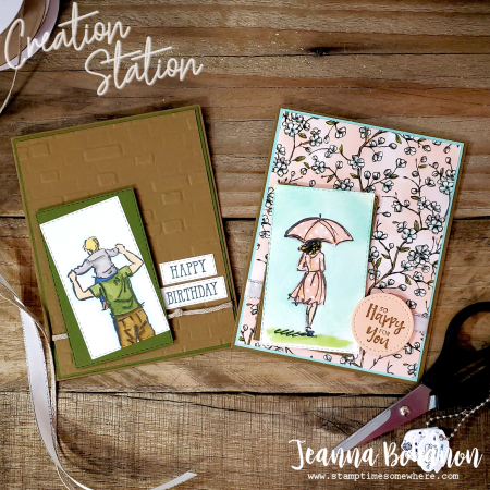 Creation Station His and Hers Stampin' Up! Jeanna Bohanon