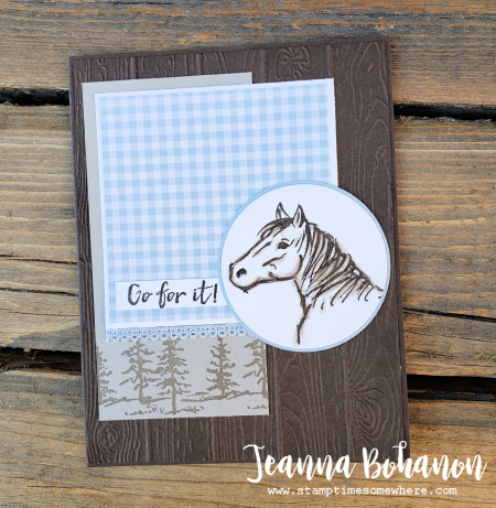 PCC340 Stampin' Up! Let it Ride by Jeanna Bohanon a