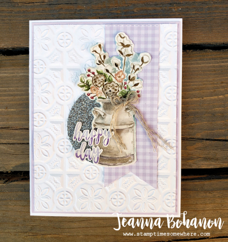 #tgifc216 Stampin' Up! Country Home by Jeanna Bohanon