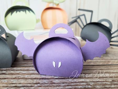 OSAT Blog Hop Spooktacular Halloween Mini Bat Curvy Keepsake Boxes Jeanna Bohanon