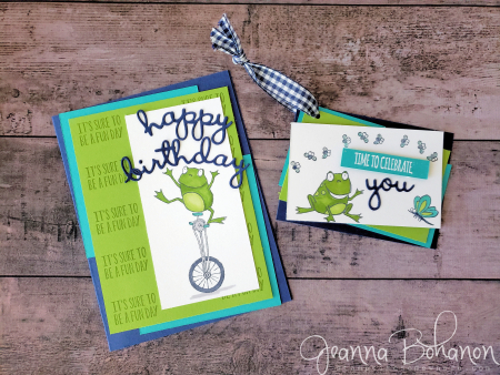 OSAT Blog Hop Stampin' Up! So Hoppy by Jeanna Bohanon