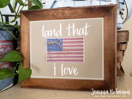 WCBH Stampin' Up! Red  White and Blue Jeanna Bohanon
